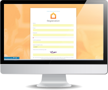 create your customer accounts