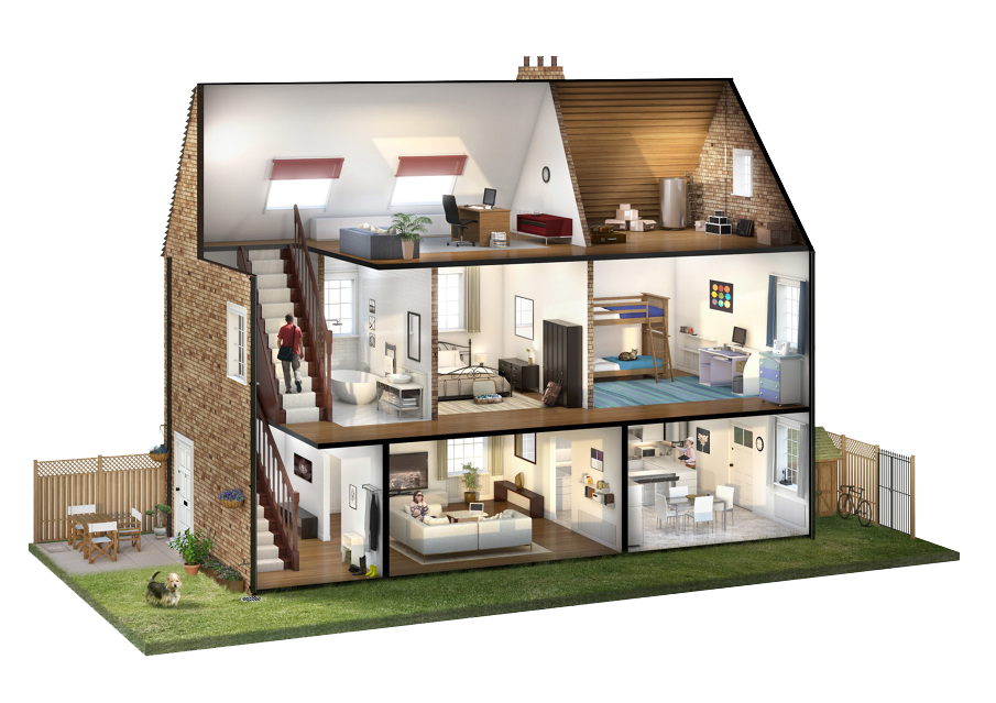 virtually design your central heating system